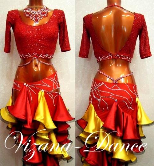 Платье латина своими руками