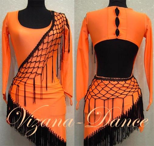Платье латина Юн-1 Продано