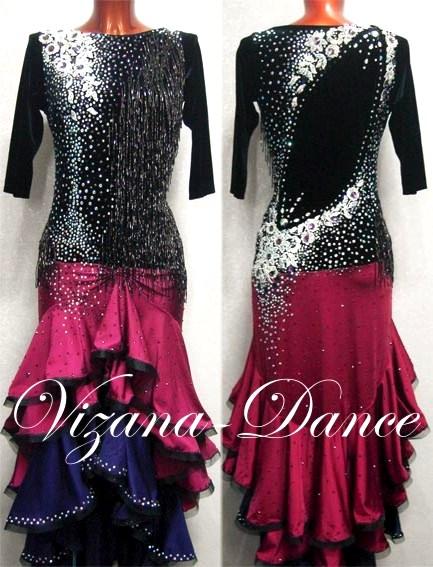 Платья на латино
