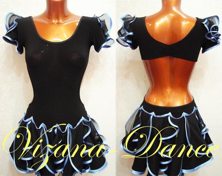 Тренировочные платья для бальных танцев сшить 40