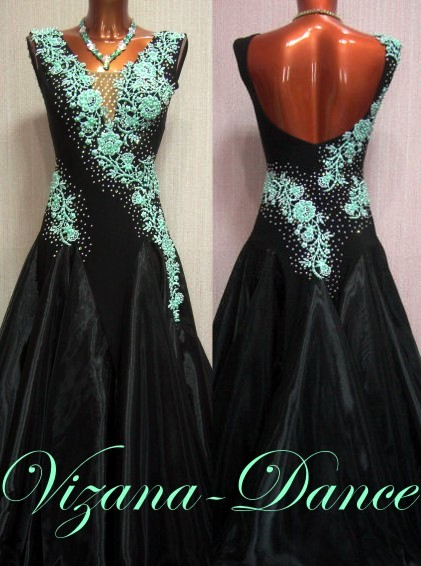 """Платье стандарт Юн-2 """"Мохито"""" Прокат-750 грн."""