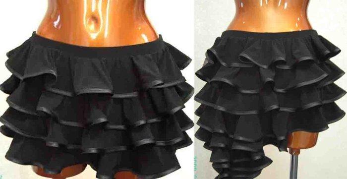 Тренировочная юбка для латины выкройки