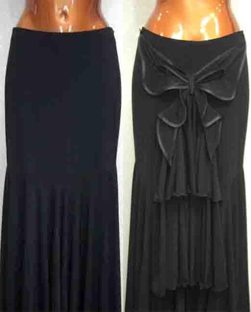 Юбка для танца фламенко должна быть : широкая, длинная, крой юбки должен...