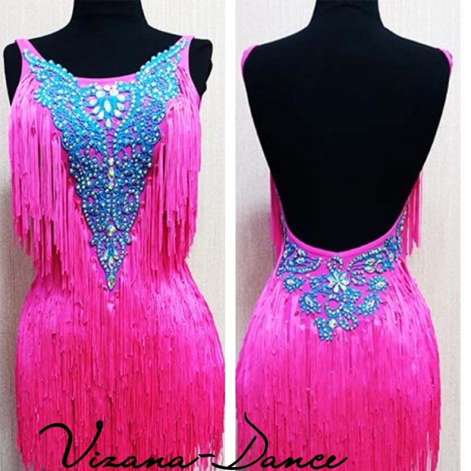 Платье латина Юн-2 Прокат - 550 грн.