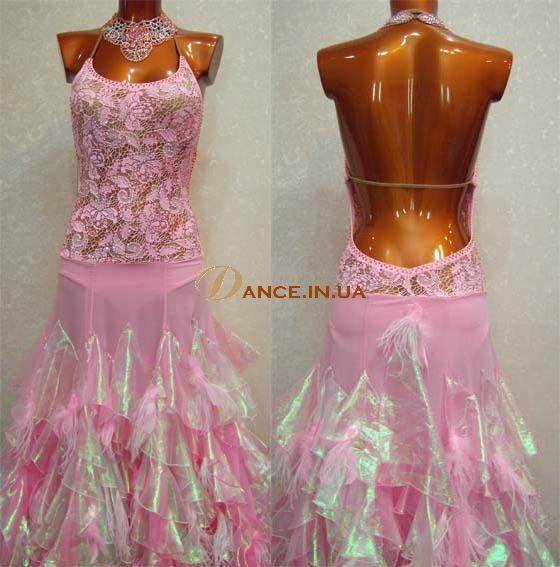 """Платье стандарт Юн-2 Платье """"Розовый фламинго"""" Прокат- 300 грн."""