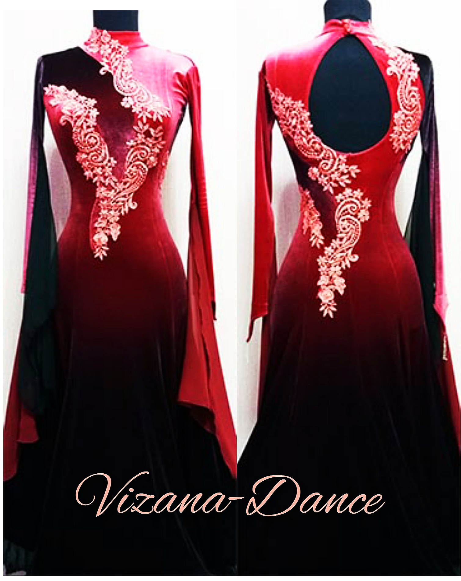"Платье стандарт Юн-1 ""Вишневый джем"" Прокат-550 грн."