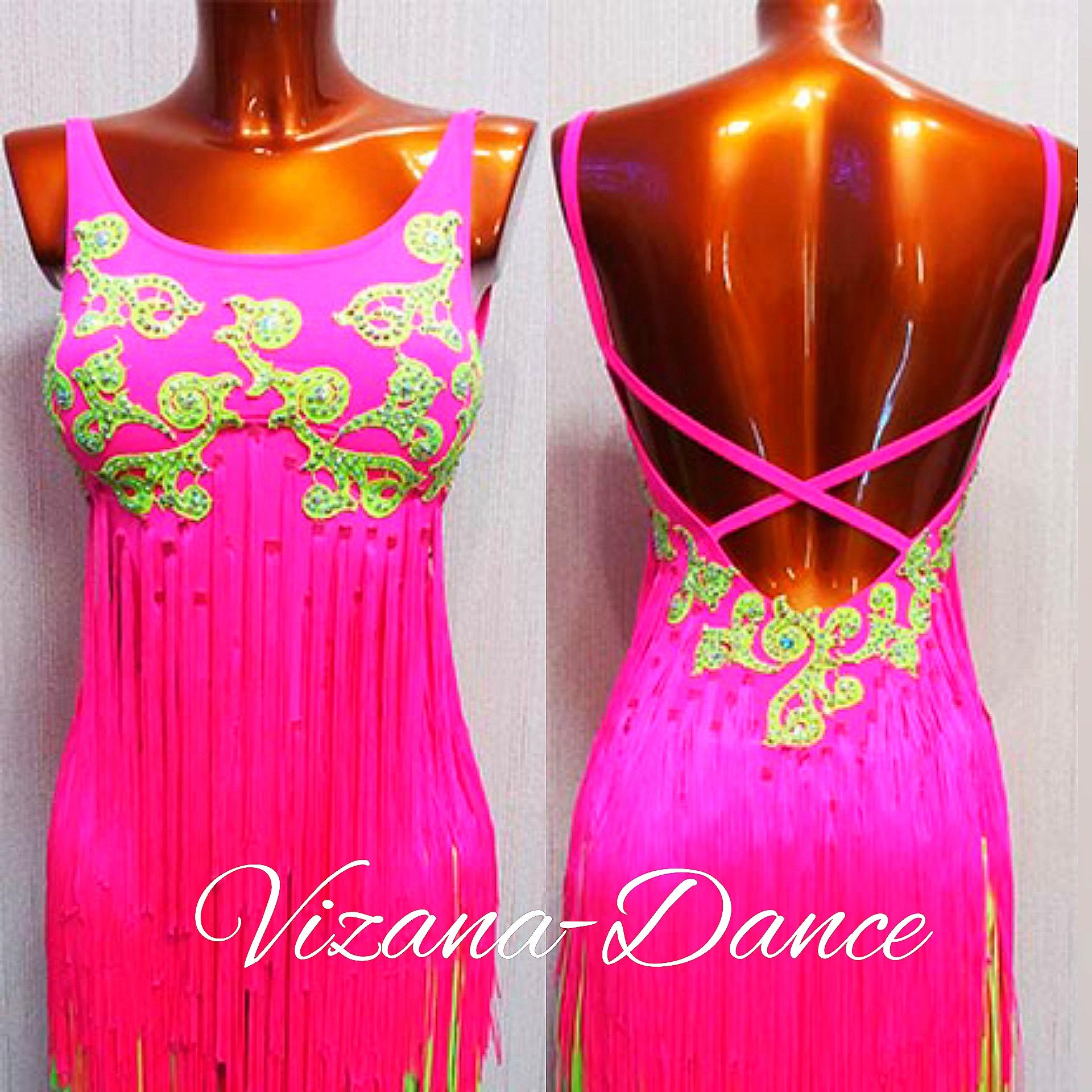 Платье латина Юн-2 Прокат-550 грн.