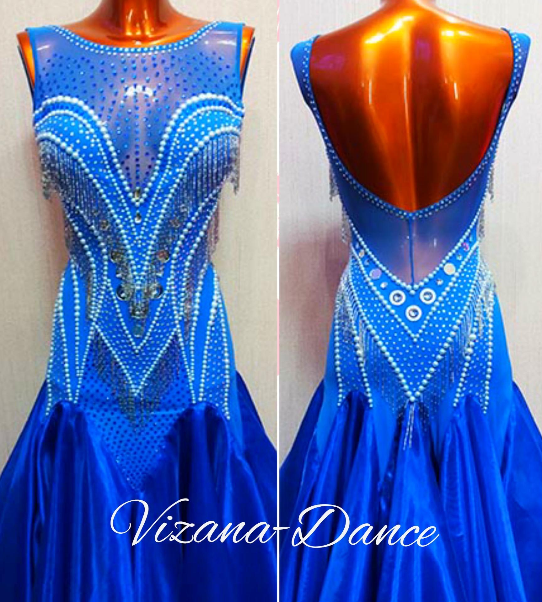 """Платье стандарт Юн-2 """"Морская жемчужина"""" Прокат - 900 грн."""