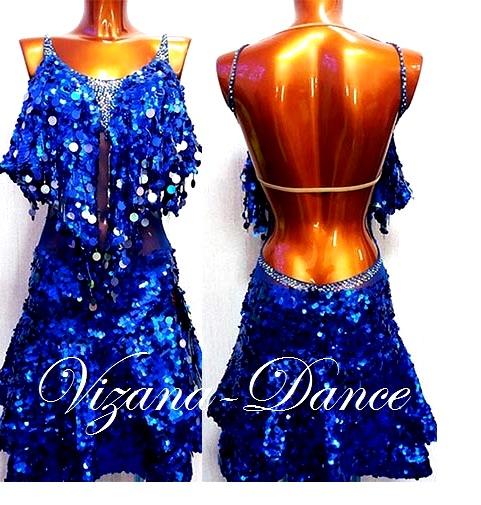 Платье латина Юн-2 Прокат - 500 грн.