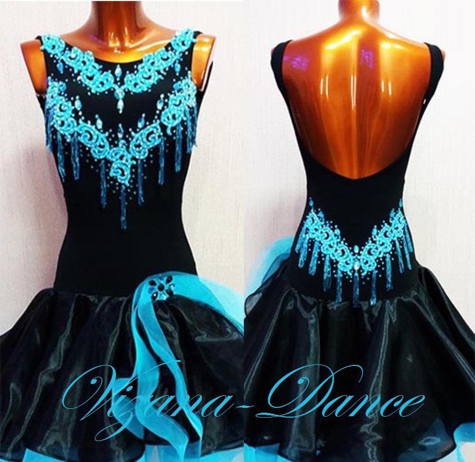 Платье латина Юн-2 Прокат - 650 грн.